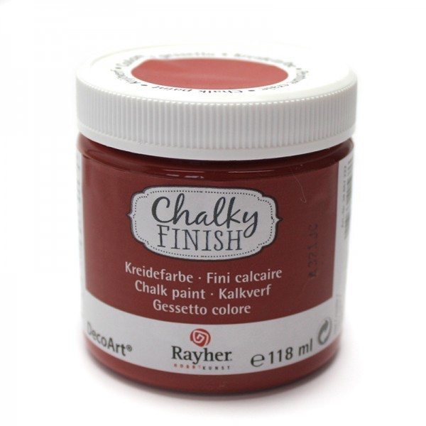 Chalky-Finish Kreidefarbe 118 ml - rost