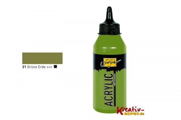 Solo Goya Acrylic, 250 ml, Grüne Erde