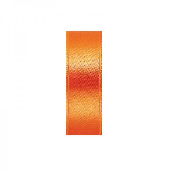 Satinband, doppelseitig, Länge 10 m, Breite 10 mm, kupfer