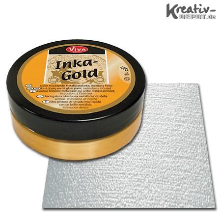 Viva Decor Inka-Gold, 62,5 g, Silber