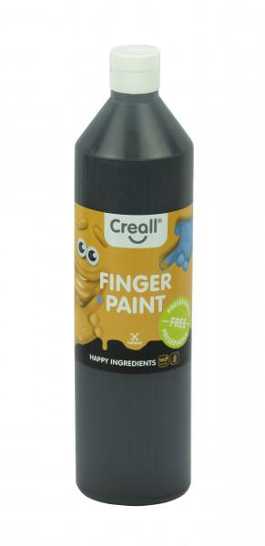 Creall-Fingermalfarbe HAPPY INGREDIENTS, 750 ml, schwarz