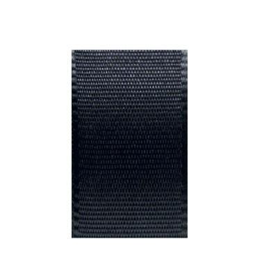 Uni-Taftband, Länge 10 m, Breite 40 mm, schwarz