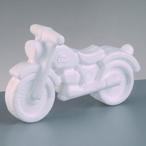 Styropor-Motorrad 11 x 17 cm