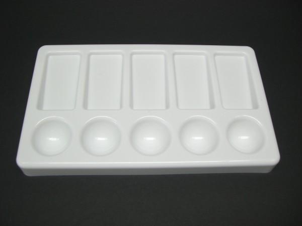 Kunststoffpalette, 11x19 cm, eckig