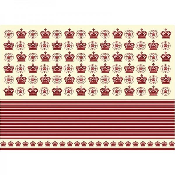 Decoupage-Papier, 17g, 25x35cm, 10 Blatt, Motiv Nr. 644