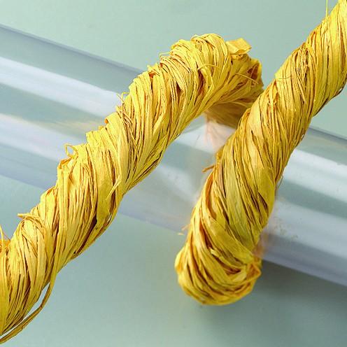 Naturbast, 50 g, gelb
