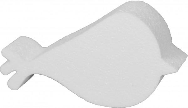 Styropor-Silhouette Vogel 10x20x4cm