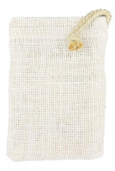 Jutebeutel/Jutesäckchen, 9x13 cm, weiß
