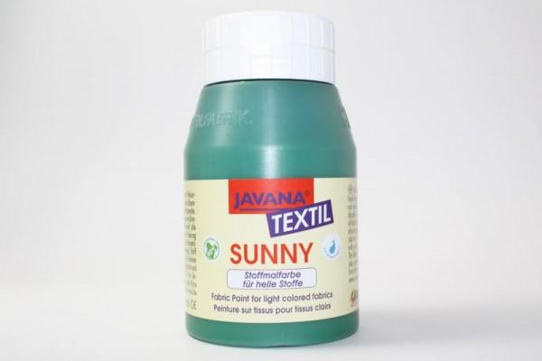 JAVANA TEXTIL SUNNY, für helle Stoffe, 500 ml, Dunkelgrün