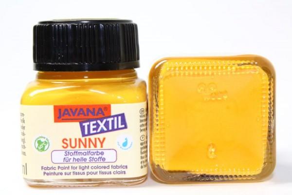 JAVANA TEXTIL SUNNY, für helle Stoffe, 20 ml, Goldgelb