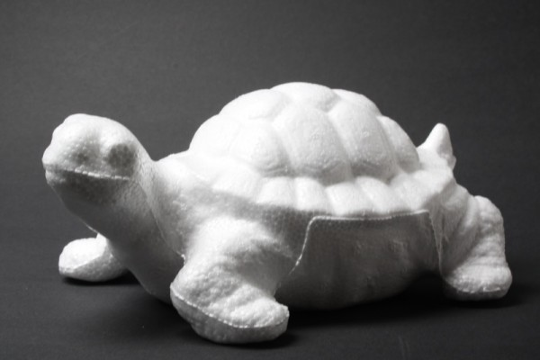 Styropor-Schildkröte, 12 cm