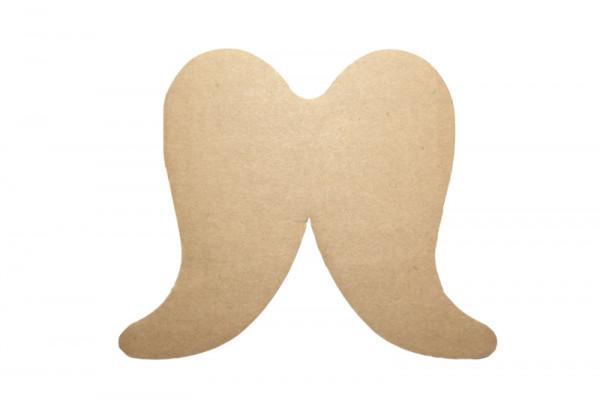 Engelsflügel, aus Pappe, 3 Stück, 30 x 25 cm