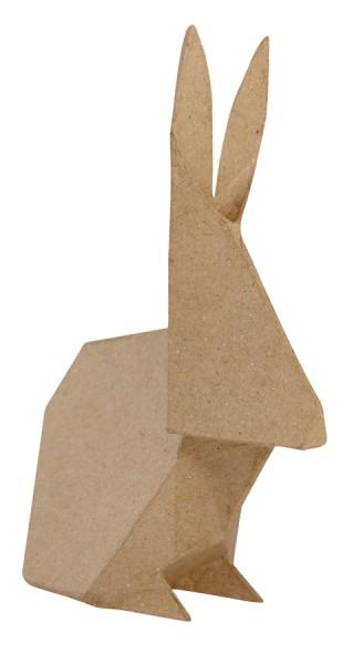 décopatch Tierfigur Origami Kaninchen 9,5 x 21 x 25 cm
