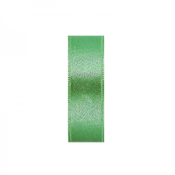 Satinband, doppelseitig, Länge 10 m, Breite 3 mm, maigrün