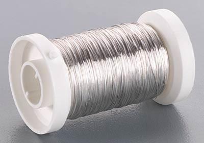 Silberdraht, 0,6 mm Ø - 18 m
