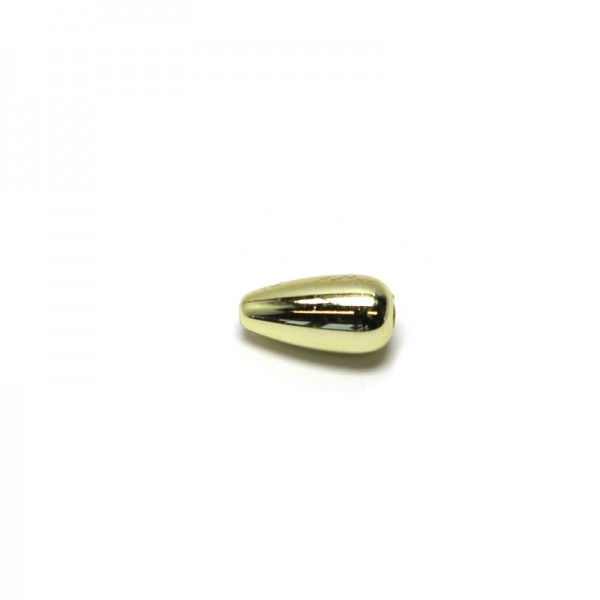 Wachstropfen 4 x 8 mm - gold, 60 Stk.