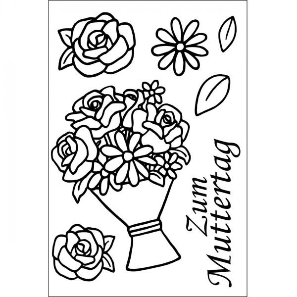 Clear Stamps - Zum Muttertag