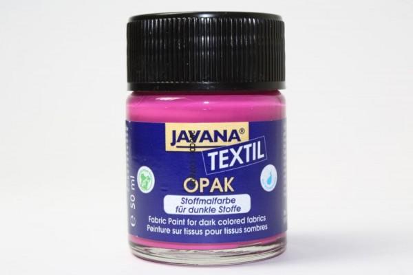 JAVANA TEXTIL Opak, für dunkle Stoffe, 50 ml, Magenta