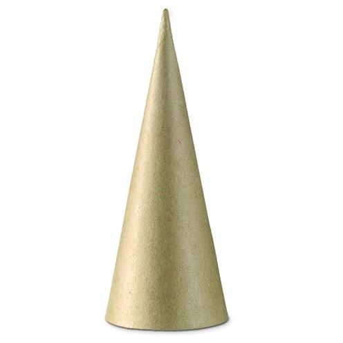 Pappmaché Kegel ∅ 8 x 20 cm