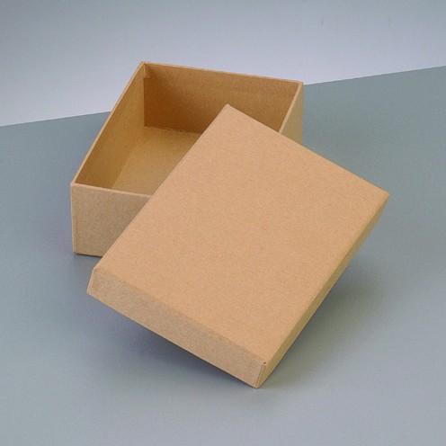 Box Rechteck, aus Pappmaché, 12,5 x 8,5 x 7 cm