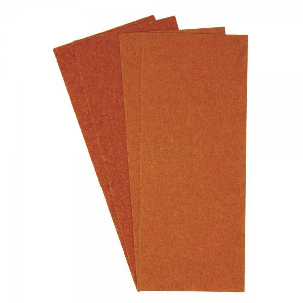 Schleifpapier-Set, sortiert, 115 x 280 mm, 4 Stück