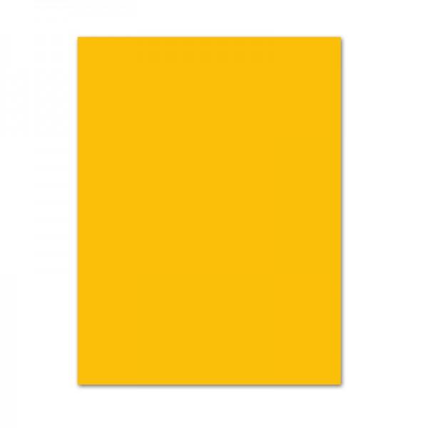 Tonpapier, 100er Pack, 130 g/m², DIN A4, goldgelb