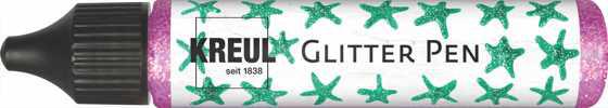 KREUL Glitter Pen, 29 ml, Fuchsia