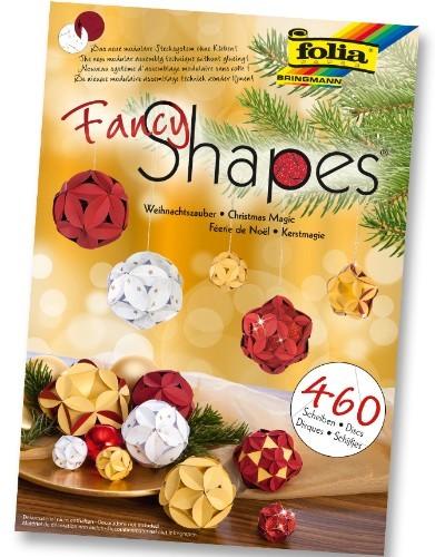 Fancy-Shapes Set 'Weihnachtszauber', 460 Scheiben