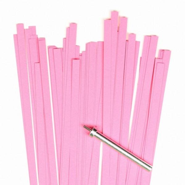Quilling Papierstreifen, 10mm x 450mm, pink