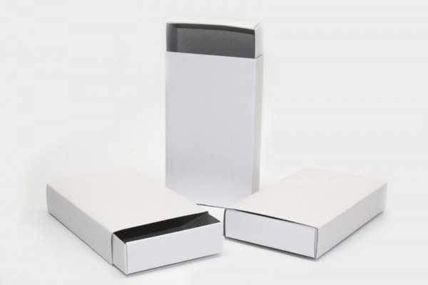blanko streichholzschachteln wei 11 x 6 6 x 2 cm 12 st ck kreativ depot. Black Bedroom Furniture Sets. Home Design Ideas