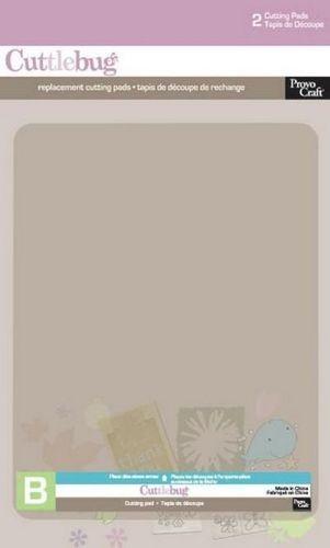 Cuttlebug Schneidematte (B) 15x19,7 cm, 2er Set