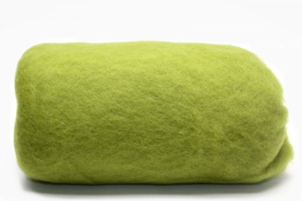 Merino-Filzwolle, im Vlies, 50 g, Kiwi