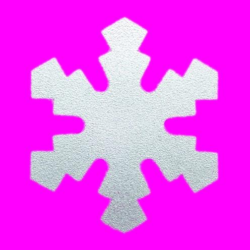 Stanzer Schneekristall, ca. 5 cm