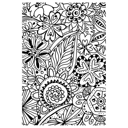 Clear Stamps - Floral