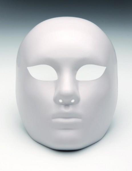 Maske Vollmaske, aus Kunststoff, 22 x 15 cm