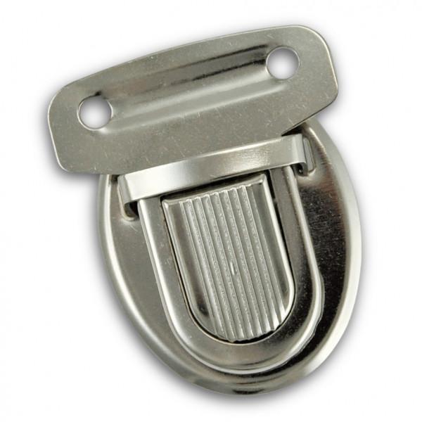 Taschenschnalle, 35 x 30 mm, 2 Stck., silberfarbig