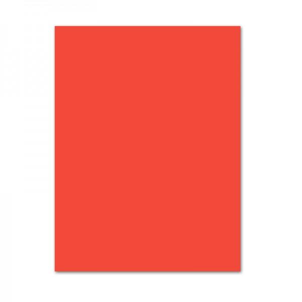 Bastelkarton, 10er Pack, 220 g/m², 50x70 cm, orange
