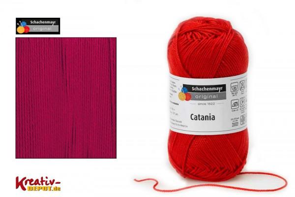 Schachenmayr Wolle - Catania, 50g, weinrot