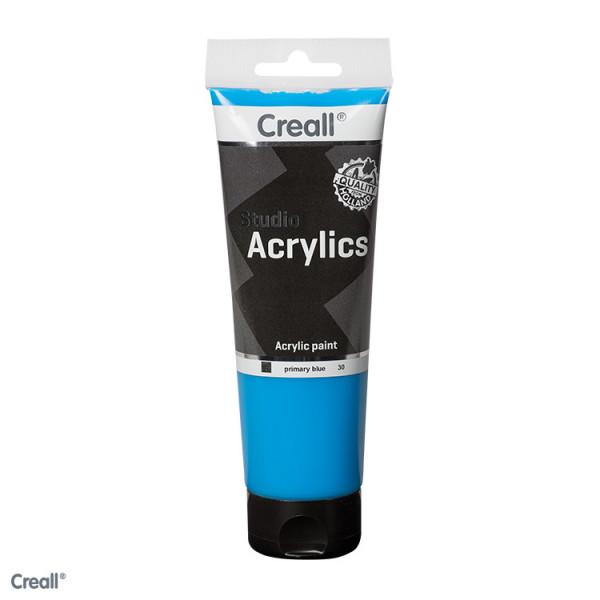Creall-studio Acrylfarbe, 250 ml, Primärblau