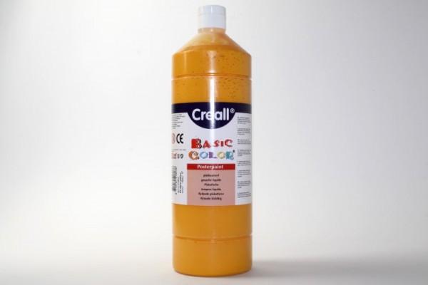 Basic-color, Schultempera, 1000 ml, dunkelgelb