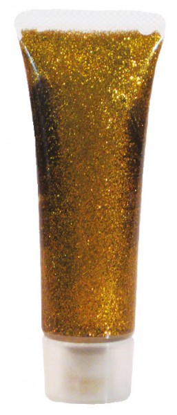 Eulenspiegel Glitzer-Gel, 18 ml, classic gold