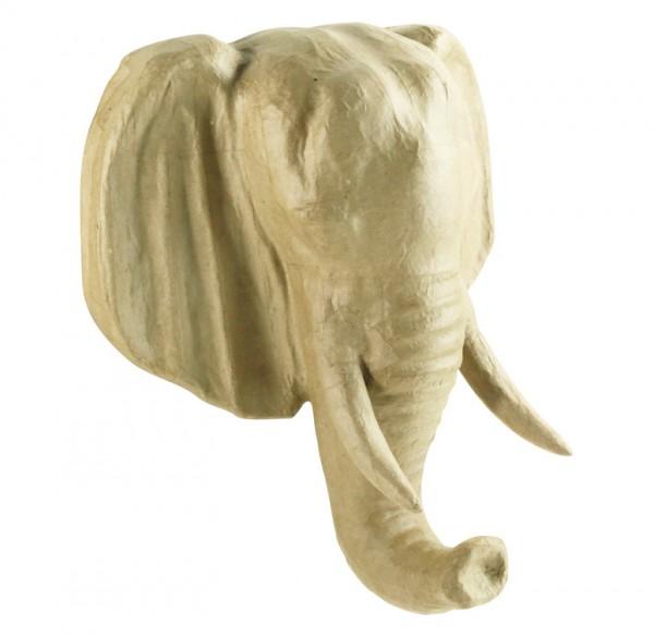 décopatch Trophäe Elefant, 31 x 16,5 x 36 cm