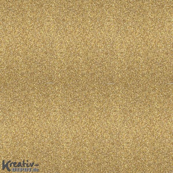 Glitterfolie selbstklebend - 50 x 70cm Rolle, champagne