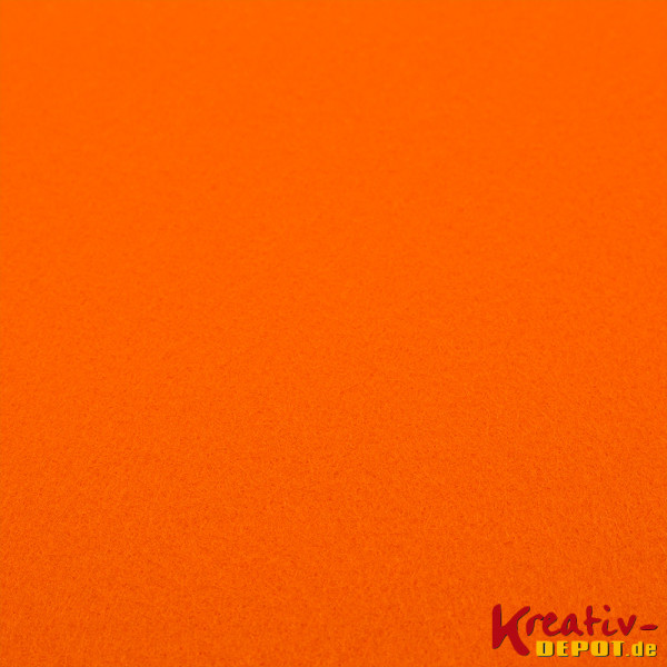 Bastelfilz, 1mm, 20x30cm, orange