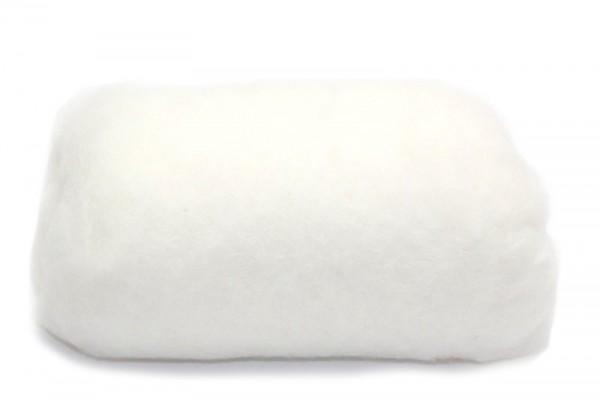 Merino-Filzwolle, im Vlies, 50 g, Schneeglöckchen