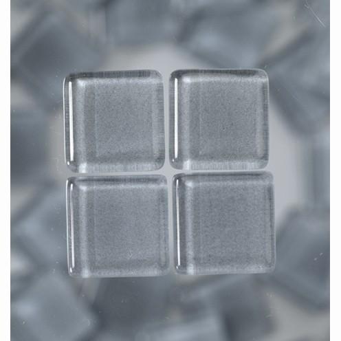 Efco Mosaik Glasstein soft, 10 x 10 mm, grau