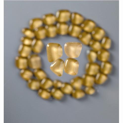 Mosaik Glasstein soft, 8-25 mm, hellbraun