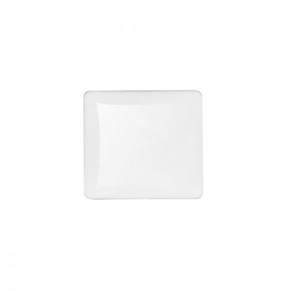6 x Cabochon Glassteine, quadratisch 27x27mm