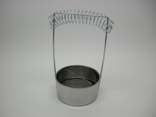 Pinselwascher aus Metall
