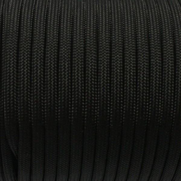 Paracord - 50 mtr. Rolle, schwarz